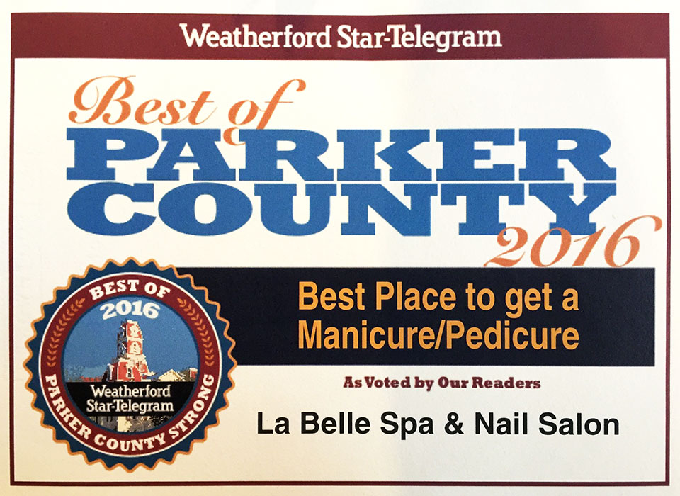 La Belle Best in Weatherford